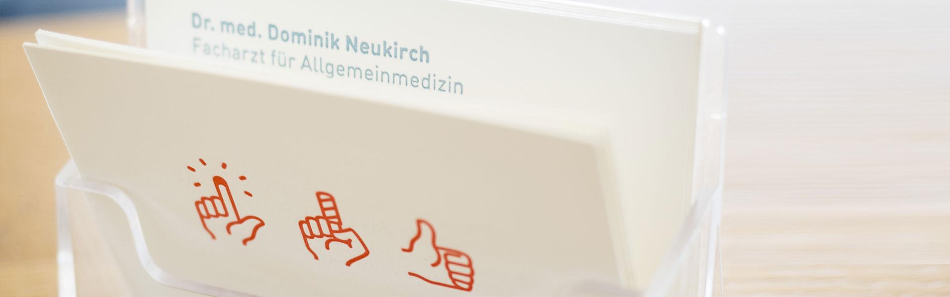 Kontakt Praxis Dr. med. Dominik Neukirch
